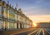Season of White Nights in Saint-Petersburg